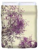 Pink Trees Duvet Cover