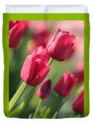 Pink Tulip Dream Duvet Cover