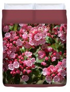 Pink Umbrellas Duvet Cover
