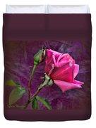 Pink Velvet Duvet Cover