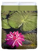 Pink Water Lily II Duvet Cover