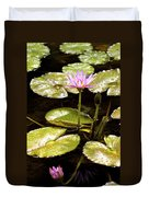 A Waterlily Reflection Duvet Cover