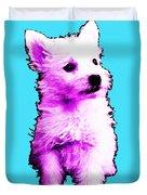 Pink Westie - West Highland Terrier Art By Sharon Cummings Duvet Cover
