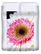 Pink White Daisy Duvet Cover