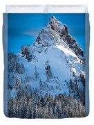 Pinnacle Peak Winter Glory Duvet Cover