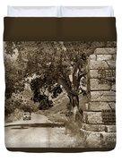 Pinnacles National Monument California Circa 1946 Duvet Cover