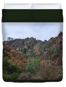 Pinnacles National Park Duvet Cover