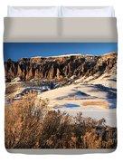 Pinnacles Sunset Duvet Cover