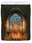 Pipe Organ Duvet Cover