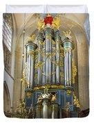 Pipe Organ In Breda Grote Kerk Duvet Cover