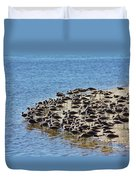 Pipers At The Bar Duvet Cover