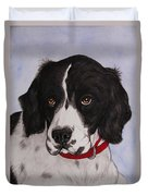 Pippy The Springer Spaniel Duvet Cover