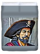 Pirate Man Duvet Cover