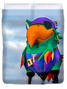 Pirate Parrot Pegleg Pete Duvet Cover