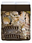 Pirate Ship 1 Duvet Cover by Douglas Barnett