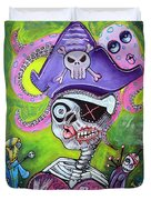 Pirate Voodoo Duvet Cover