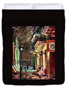 Pirate's Alley Evening Duvet Cover