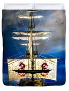 Pirates Duvet Cover by Bob Orsillo