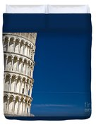 Pisa - The Leaning Tower Duvet Cover
