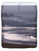 Pistol River Beach Duvet Cover