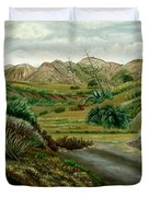 Pitas' Path Duvet Cover
