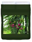 Pitaya Fruit Trees Duvet Cover
