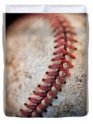 Pitchers Stitches Duvet Cover