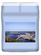 Pittsburgh North Duvet Cover