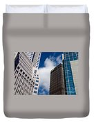 Pittsburgh Skyscrapers Duvet Cover