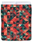 Pixel Art Poster Duvet Cover