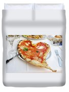 Pizza Amore Duvet Cover