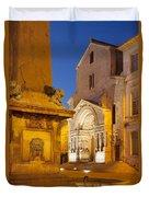 Place De La Republique Duvet Cover