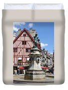 Place Francois Rude - Dijon Duvet Cover