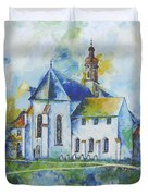 Place Of Silence Duvet Cover