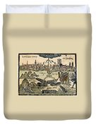 Plague Of London, 1665 Duvet Cover