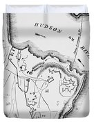 Plan Of West Point Duvet Cover