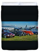 Planes And Cars Duvet Cover