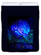 Planet Disector Reflected Duvet Cover