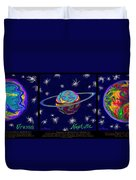 Planets 7 8 9 - Science Duvet Cover