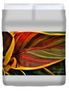 Plant Leaf Duvet Cover