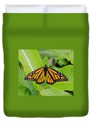 Plant Milkweed And Save The Monarch Butterfly Duvet Cover