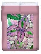 Plant Pattern - Photopower 1212 Duvet Cover