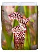 Plant - Pretty As A Pitcher Plant Duvet Cover
