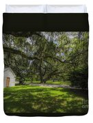 Plantation Grounds Duvet Cover