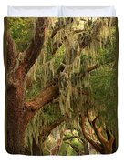 Plantation Oak Trees Duvet Cover