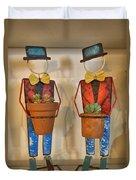 Planter Buddies Duvet Cover