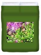Plants Flowers Duvet Cover