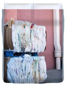 Plastic Bags To Be Recycled Duvet Cover