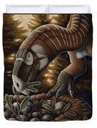 Plateosaurus Dinosaur Nest Duvet Cover