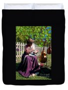 Play A Song For Me Duvet Cover